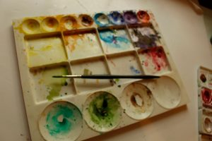 image or watercolor pallet